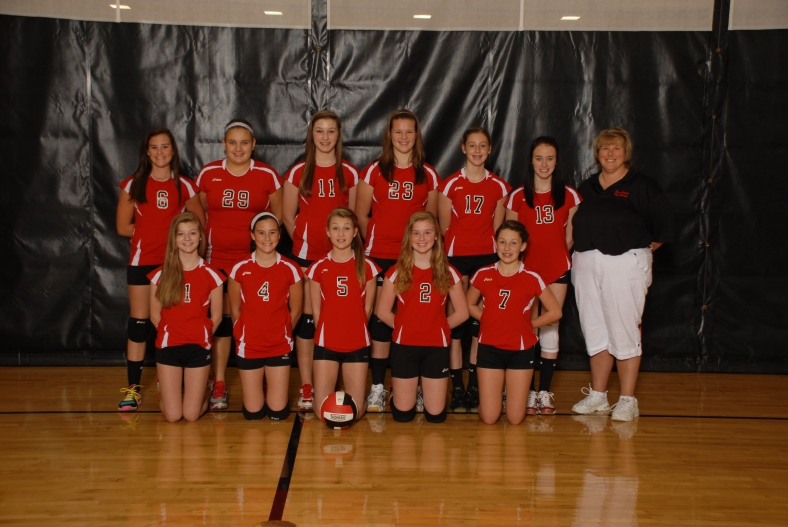 8th Grade Vollyball Team!