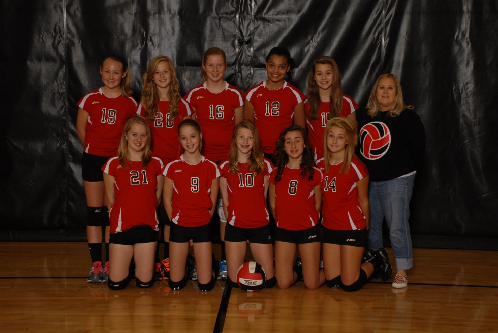 7th Grade Vollyball Team!