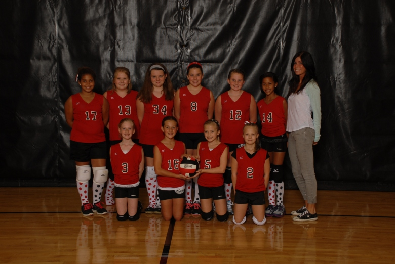 5th Grade Vollyball Team!