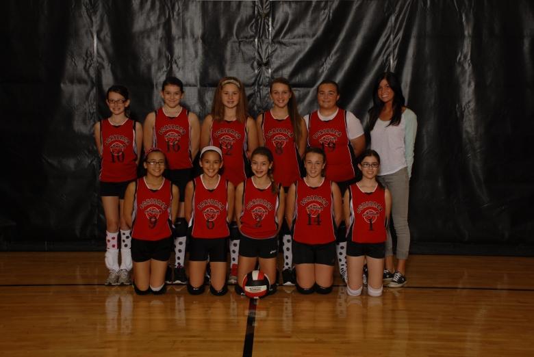 6th Grade Vollyball Team!