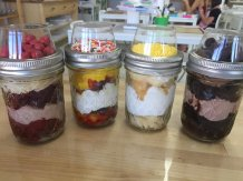 Image result for cake in a jar